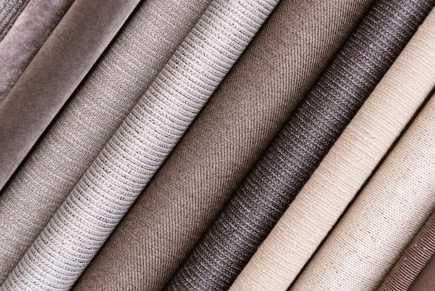 Pilha de fundo de têxteis