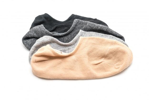 Pilha de meias curtas