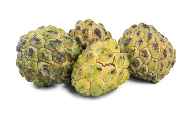 Pilha de pinha de fruta doce e saudável