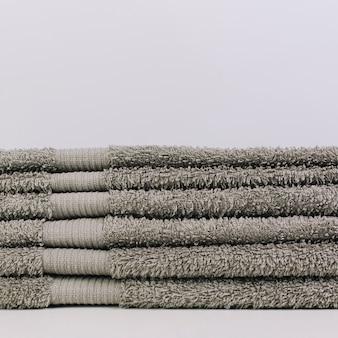 Pilha de toalhas