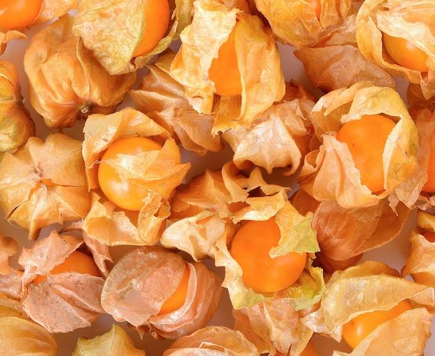 Pilhas de cape gooseberry