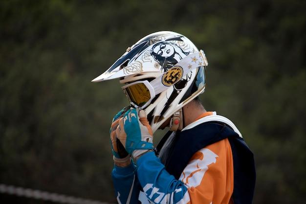 Piloto de motocross