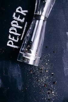 Pimenta na mesa