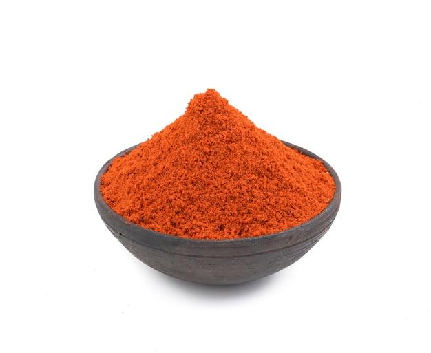 Pimenta vermelha em pó
