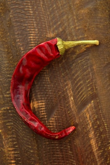 Pimenta vermelha seca
