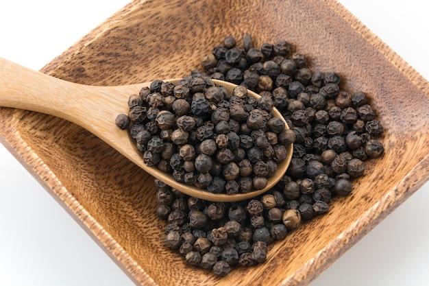 Pimentas pretas