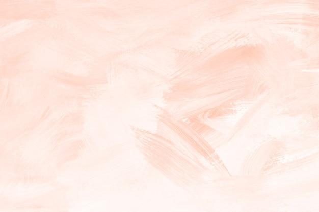 Pincel de pintura laranja texturizado