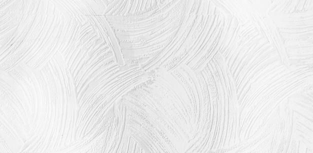 Pincel pintado à mão com textura aquarela branca de fundo