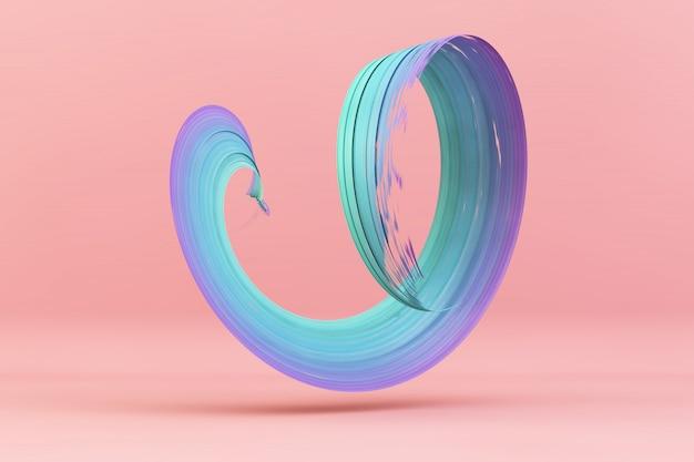 Pincelada colorida