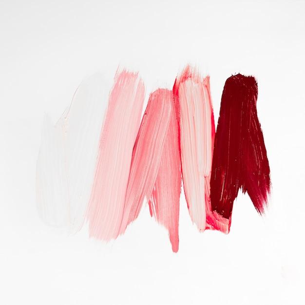 Pinceladas coloridas artísticas de tinta