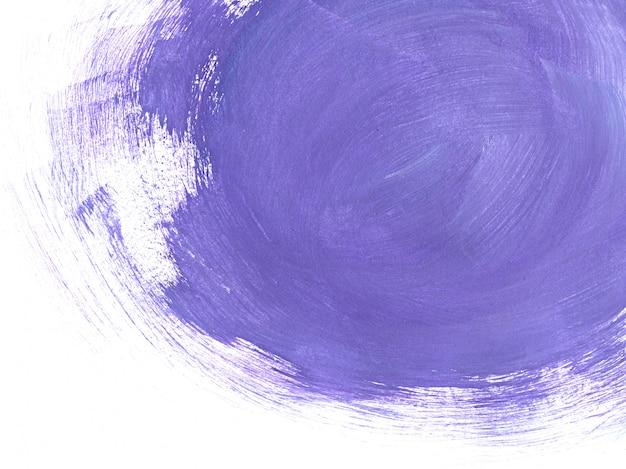 Pinceladas de roxo abstraem base