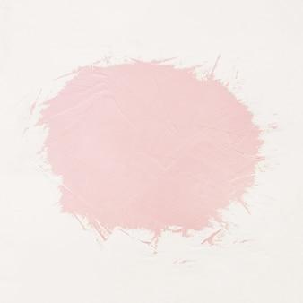 Pinceladas de tinta rosa com espaço para o seu próprio texto