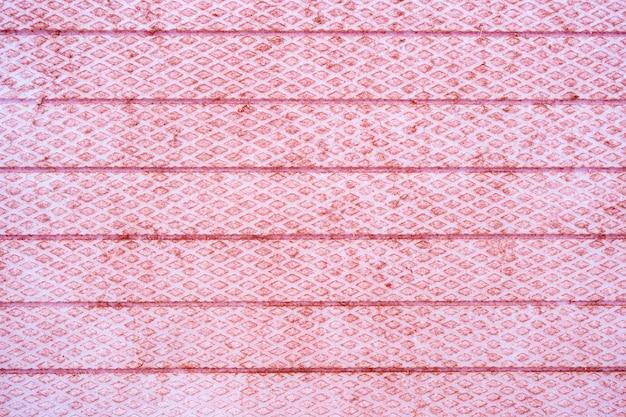 Ping listras e textura diagonal ganância