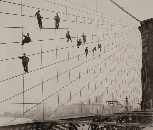 Pintores na ponte