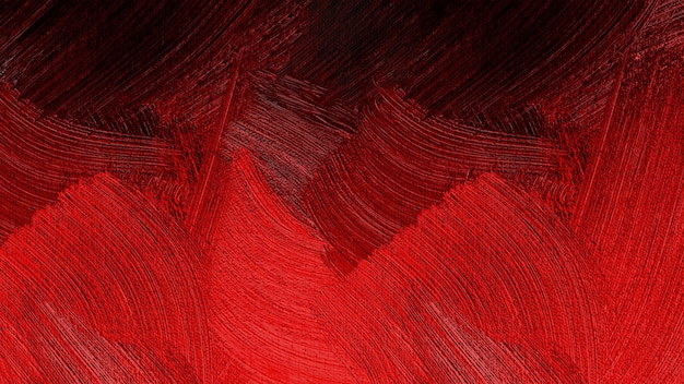 Pintura a óleo abstrata na textura de lona.