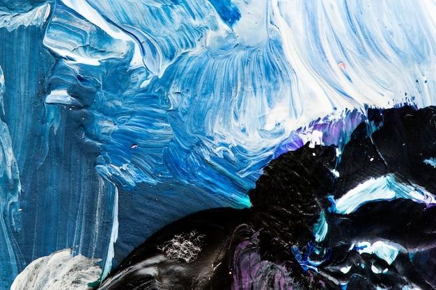Pintura a óleo texturizada abstrata