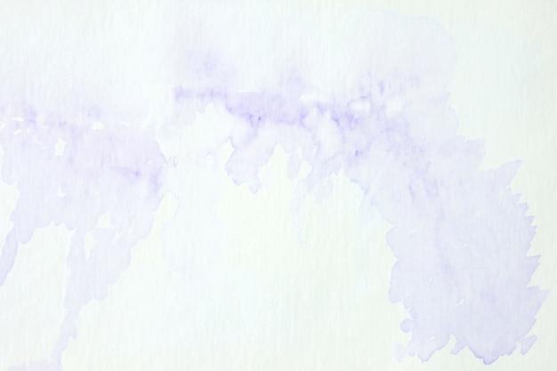 Pintura abstrata roxa da aguarela textured.
