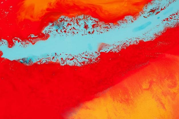 Pintura acrílica. arte abstrata. tintas mistas. fundo moderno.
