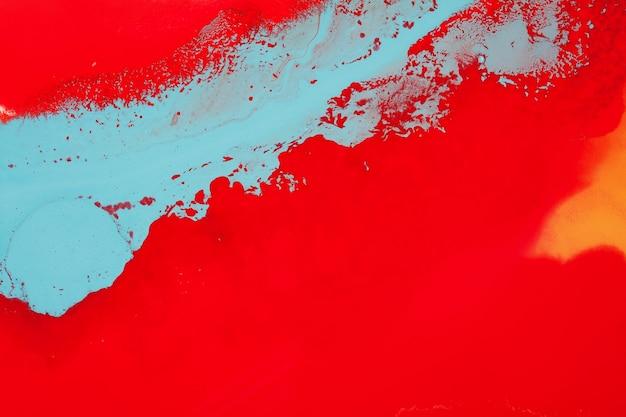 Pintura acrílica. fundo moderno. lindas cores brilhantes.