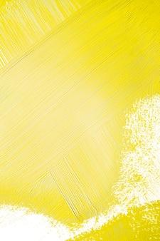 Pintura amarela brilhante com textura