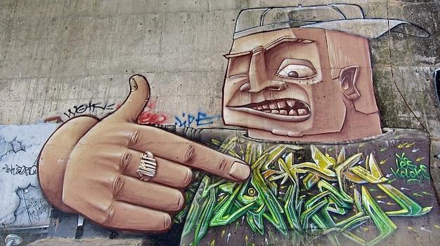 Pintura artística france arte do graffiti toulouse