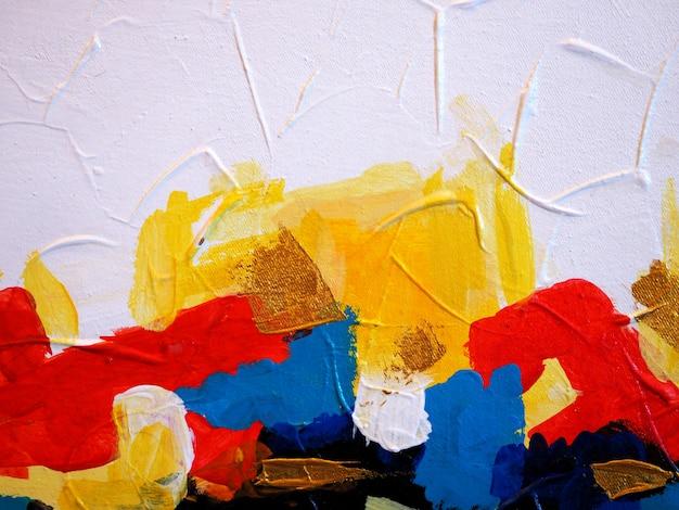 Pintura colorida textura abstrato.