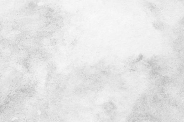 Pintura de aquarela abstrata cinza texturizada no fundo de papel branco
