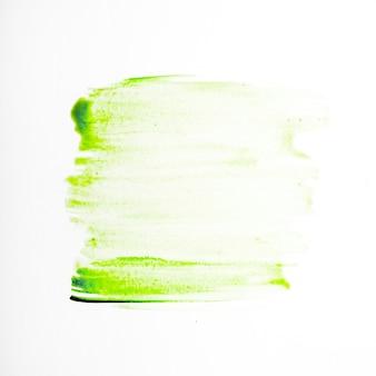 Pintura de aquarela verde abstrata