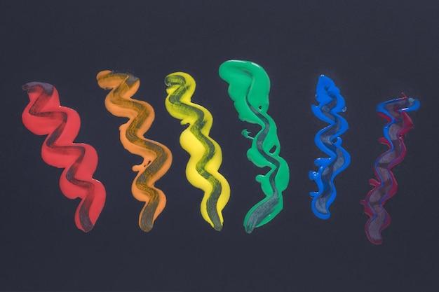 Pintura de arco-íris