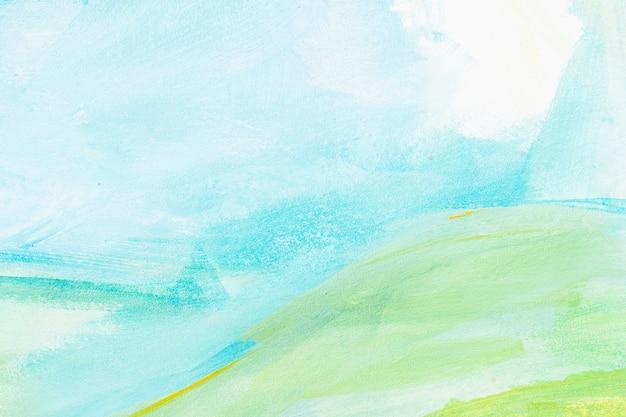 Pintura de fundo abstrato de cor de água