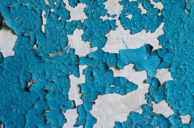 Pintura de textura de parede velha, camada, esfoliar, floco, vintage, abandonado texturizado