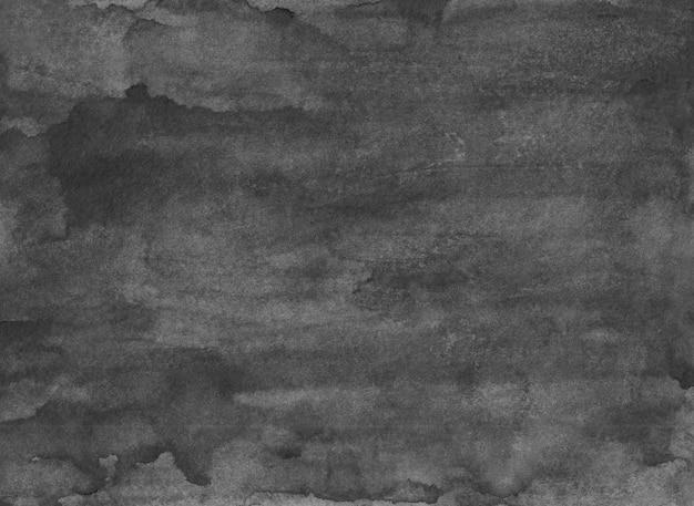 Pintura em aquarela cinza velho plano de fundo texturizado. manchas de monocromático grunge calmo no papel. sobreposição. arte abstrata em aquarela.