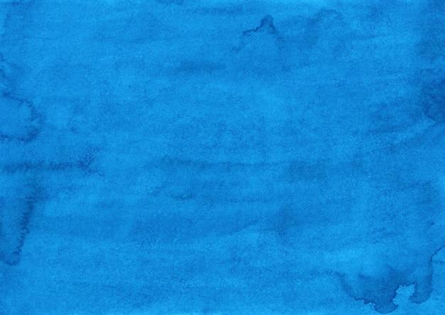 Pintura em aquarela com textura azul