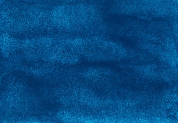Pintura em aquarela de fundo azul profundo
