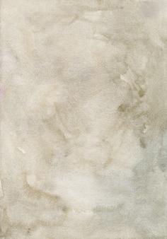 Pintura em aquarela de fundo marrom claro.