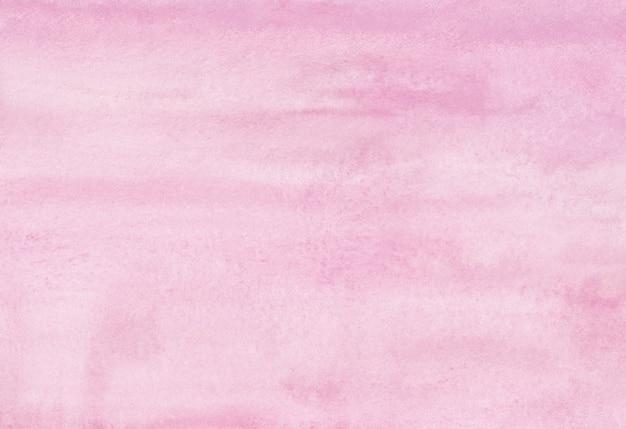 Pintura em aquarela de fundo rosa suave