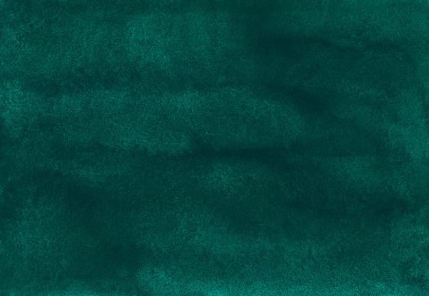 Pintura em aquarela de fundo verde profundo