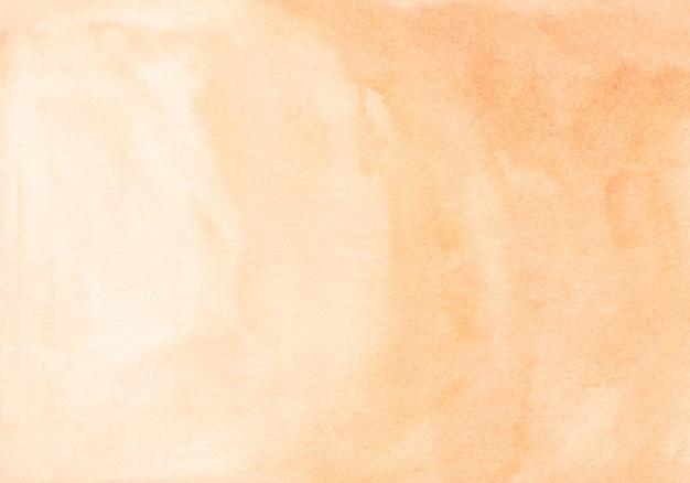 Pintura em aquarela em laranja claro