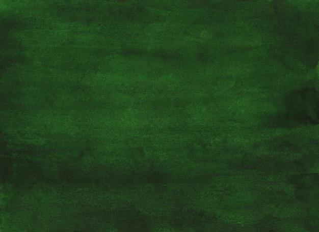 Pintura em aquarela fundo verde profundo. aquarelle calma grama verde cor. manchas na mão de papel pintada de textura.