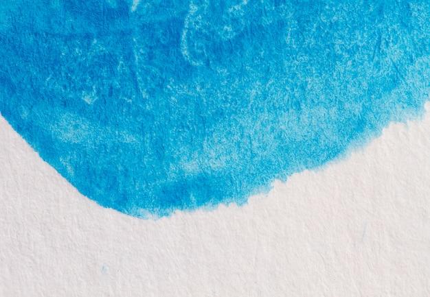 Pintura em aquarela, quadro artístico abstrato, lugar para texto ou logotipo. tom azul.
