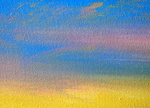 Pintura em aquarela sobre papel abstrato com textura