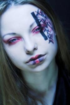 Pintura facial criativa