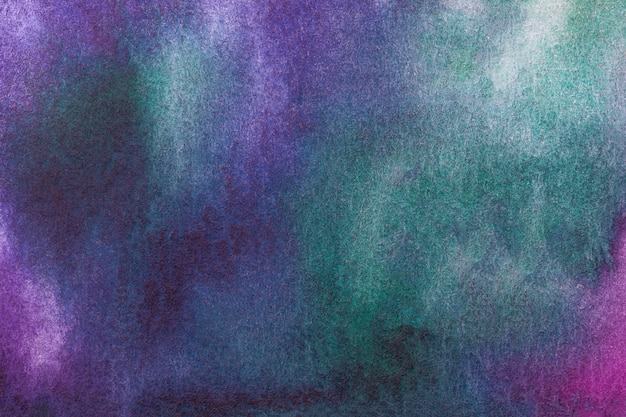 Pintura multicolorida sobre tela