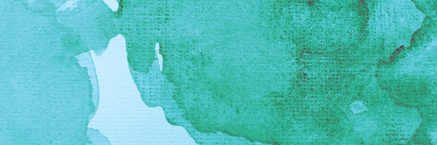 Pintura verde aquarela abstrata criativa