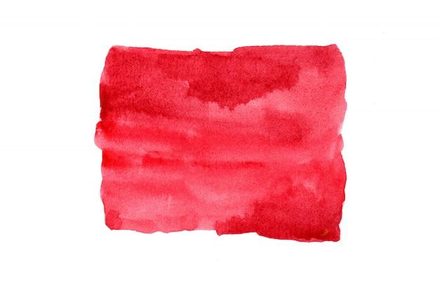 Pinturas em aquarela com imagens abstratas coloridas artísticas em papel branco. conceito de aquarela.