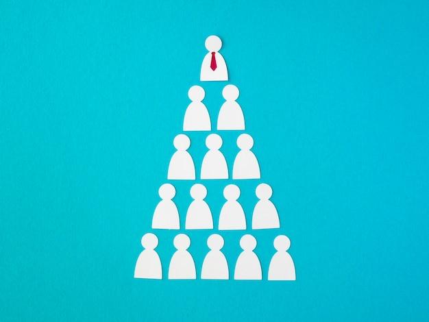 Pirâmide decorativa para o dia do chefe