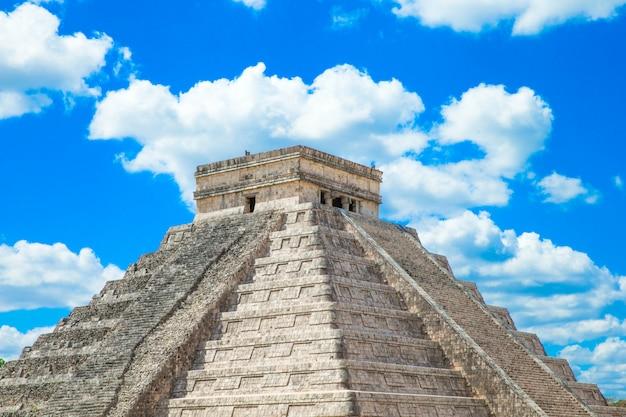 Pirâmide em chichen itza