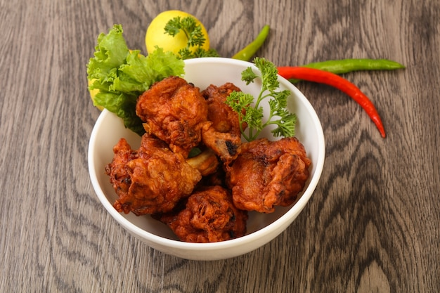 Pirulitos de frango