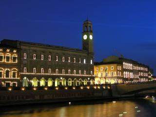 Pisa, luminaria di san ranieri