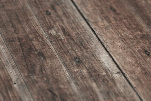 Piso de madeira rústica